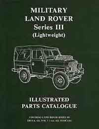 Military Land Rover Series 3 (Lightweight) Illustrated Parts Catalogue