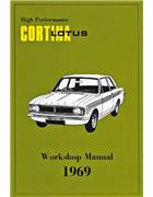 High Performance Lotus Cortina Mk2 1969 Workshop Manual - Front Cover