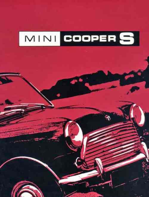 Mini Cooper 'S' Mk 3 Owners Handbook - Front Cover