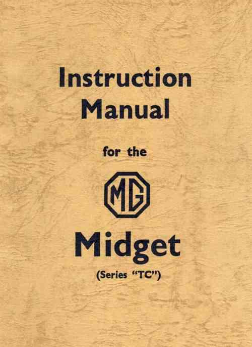 MG Midget Series TC Instruction Manual
