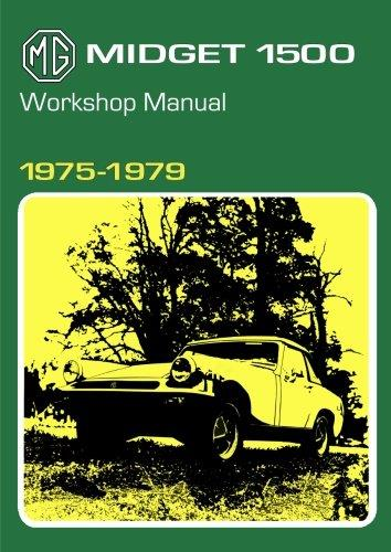 MG Midget 1500 1975 - 1979 Owners Service & Repair Manual - Front Cover