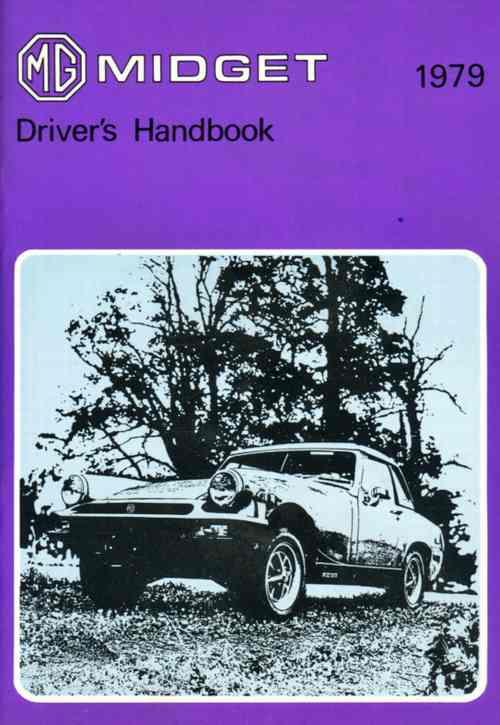 MG Midget Mk3 1979 on Drivers Handbook - Front Cover