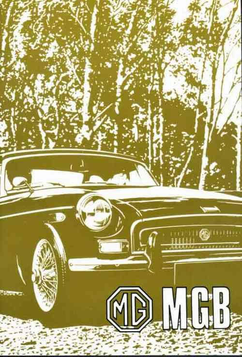 MG MGB & GT 1971 on Owners Handbook (US Spec)