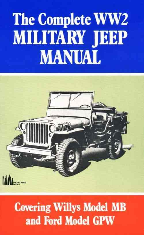 Complete World War 2 Military Jeep Manual - Front Cover