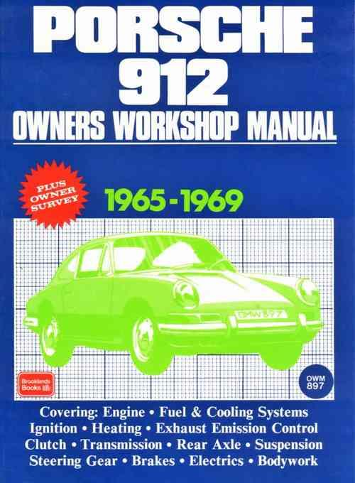 Porsche 912 1965 - 1969 Owners Service & Repair Manual - Front Cover