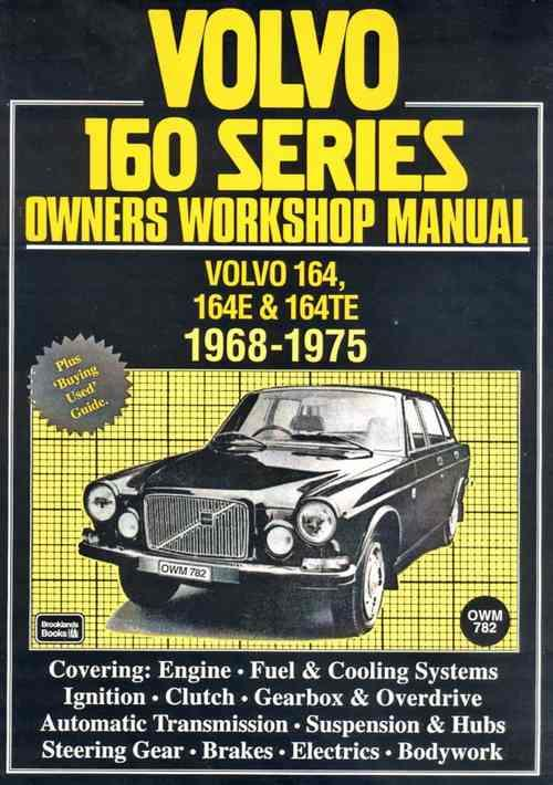Volvo 160 Series 1968 - 1975 Owners Service & Repair Manual - Front Cover