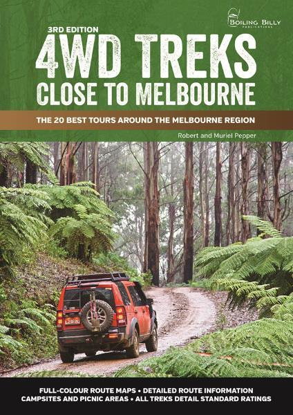 4WD Treks Close to Melbourne (3rd Edition) - Front Cover