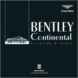 Bentley Continental, Corniche and Azure - Front Cover