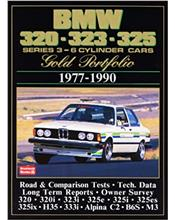 BMW 320 - 323 - 325 Series 3 6 - Cylinder Cars 1977 - 1990 Gold Portfolio