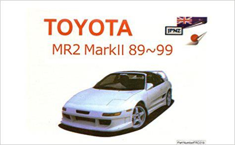 Toyota MR2 1989 - 1999 Owners Manual