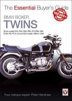 BMW Boxer Twins 1969 - 1994 : The Essential Buyers Guide - Front Cover