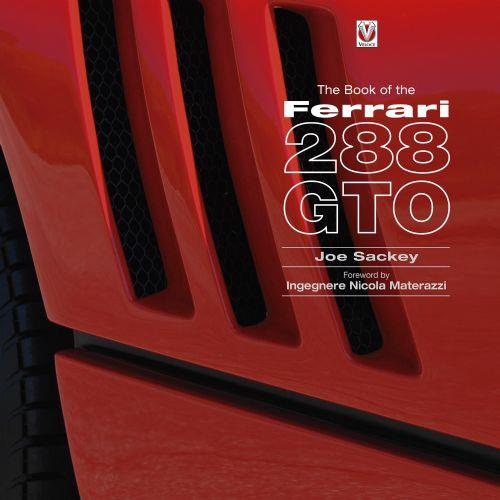 The Book of the Ferrari : 288 GTO - Front Cover