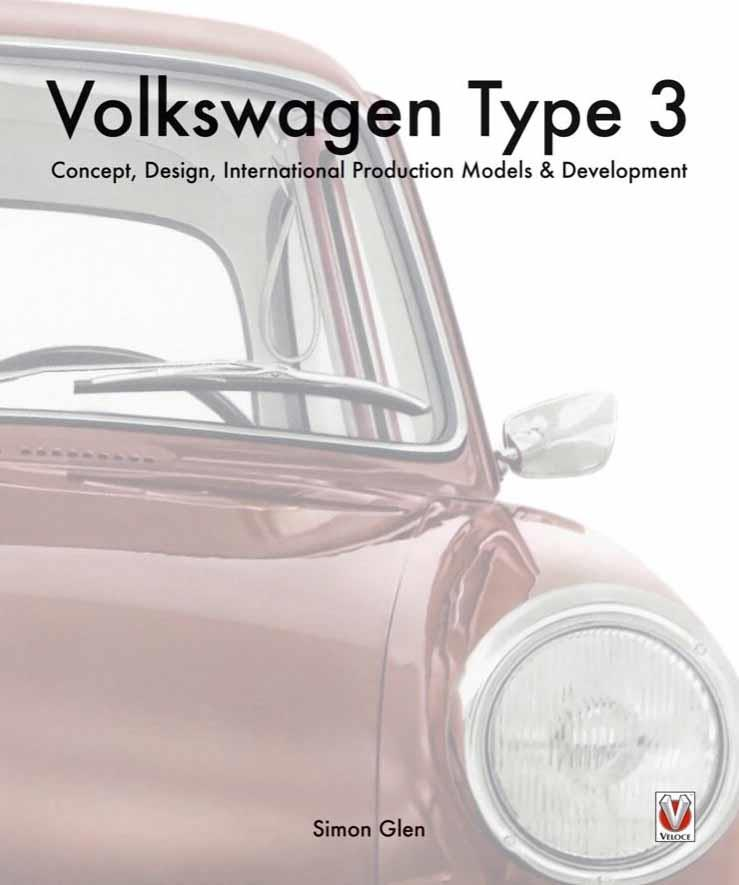 The book of the Volkswagen : Type 3 - Front Cover