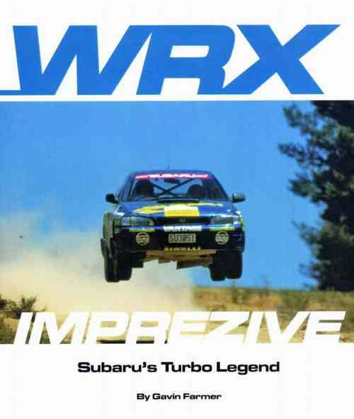 WRX Imprezive Subaru Turbo Legend - Front Cover