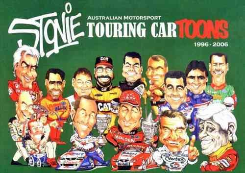 Australian Motorsport Touring CarToons 1996 - 2006 - Front Cover