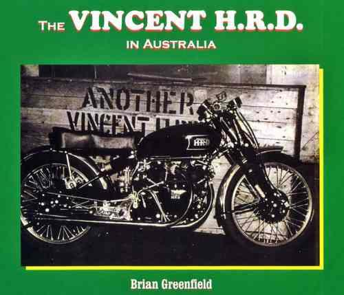 The Vincent HRD in Australia - Front Cover