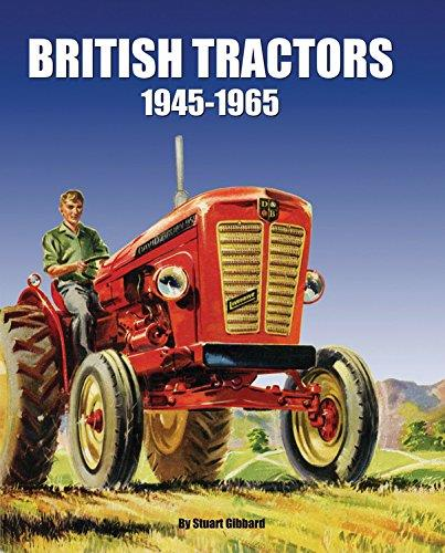 British Tractors 1945 - 1965 - Front Cover