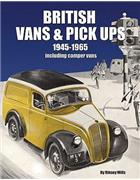 British Vans & Pick Ups 1945 - 1965: Including Camper Vans - Front Cover