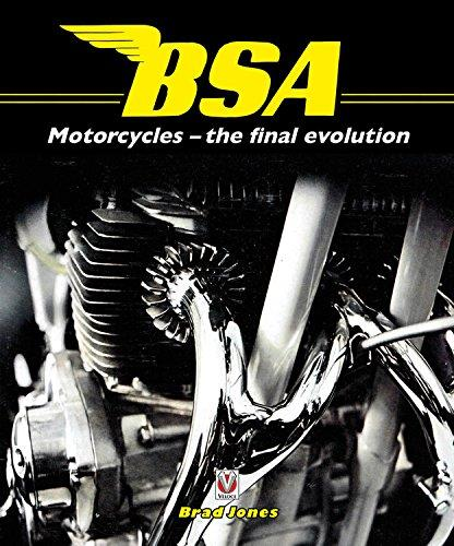 BSA Motorcycles : the final evolution - Front Cover