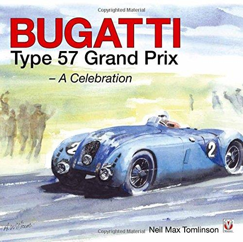 Bugatti Type 57 Grand Prix : A Celebration - Front Cover