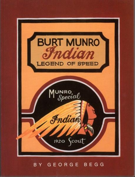 Burt Munro Indian Legend of Speed - Front Cover