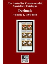 Decimals 1966 - 1984 Volume 1 (3rd Edition)