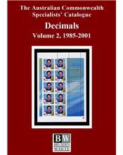 Decimals 1985 - 2001 Volume 2 (3rd Edition)