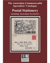The Australian Commonwealth Specialists' Catalogue : Postal Stationary