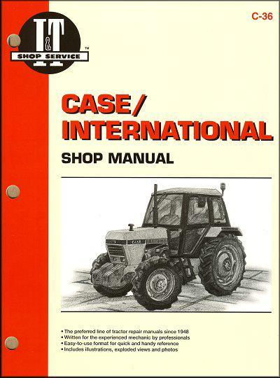 Case International Farm Tractor Owners Service & Repair Manual - Front Cover