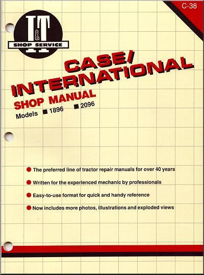 Case International 1984 - 1985 Farm Tractor Owners Service & Repair Manual - Front Cover