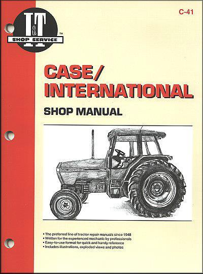 Case International Maxxum Diesel 1990-1991 Farm Tractor Service & Repair Manual - Front Cover