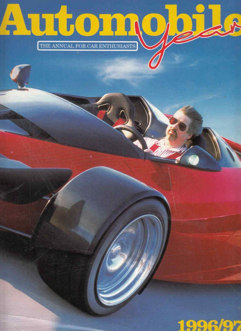 Automobile Year 1996 - 1997 - Front Cover