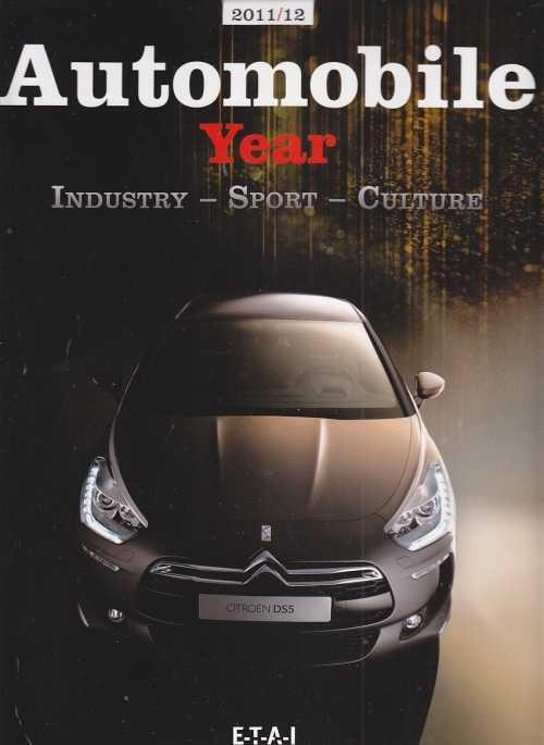 Automobile Year 2011 - 2012 No. 59 - Front Cover