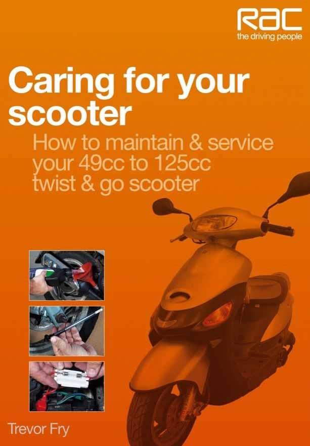 Caring for Your Scooter - Front Cover