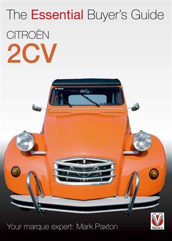 Citroën 2CV : The Essential Buyers Guide - Front Cover