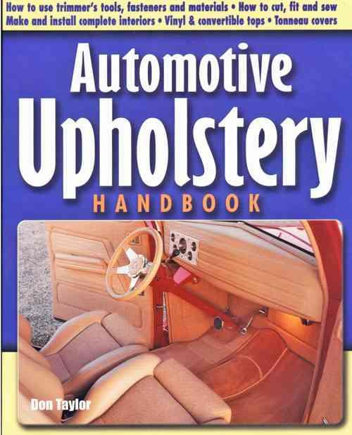 Automotive Upholstery Handbook - Front Cover