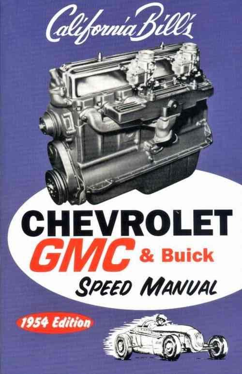 California Bills Chevrolet GMC & Buick Speed Manual - Front Cover