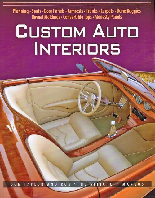 Custom Auto Interiors - Upholstery - Front Cover
