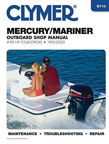 Mercury / Mariner 4 - 90 HP Four Stroke Outboards 1995 - 2000 - Front Cover