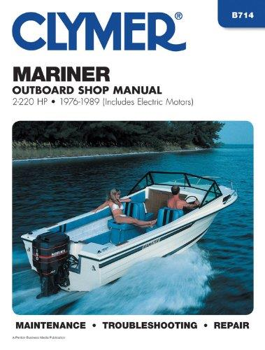 Mariner 2 - 220 HP Outboards (Including Electric Motors) 1976 - 1989 - Front Cover