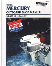 Mercury / Mercury 3.9 - 135 HP Outboards 1964 - 1971