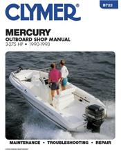 Mercury 3 - 275 HP Outboards 1990 - 1993