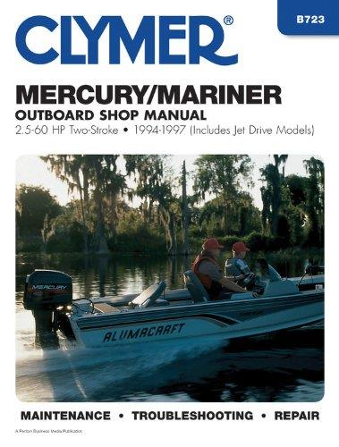 Mercury / Mariner 2.5 - 60 HP Two-Stroke Outboards 1994 - 1997 - Front Cover