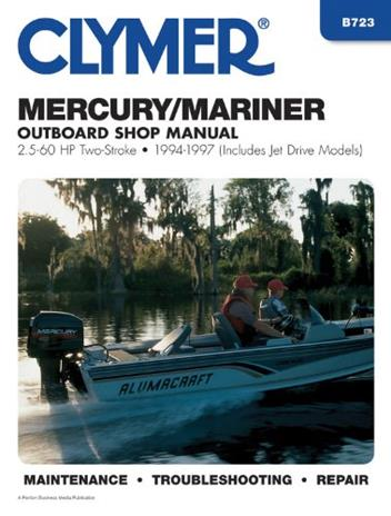 Mercury / Mariner 2 5 - 60 HP Two-Stroke Outboards 1994