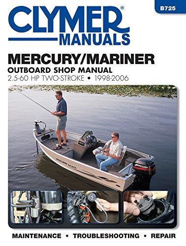 Mercury / Mariner 2.5-60 HP Two-Stroke Outboards 1998 - 2006 - Front Cover