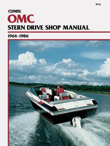 OMC Stern Drives 1964 - 1986 Clymer Owners Marine Service & Repair Manual