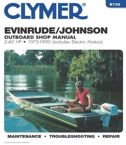 Evinrude / Johnson 2-40 HP Outboards (Includes Electric Motors) 1973 - 1990 - Front Cover
