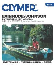Evinrude / Johnson 2-40 HP Outboards (Includes Electric Motors) 1973 - 1990