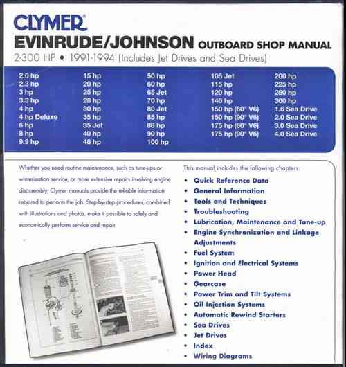 Johnson 25 hp outboard weight a Yamaha 2 stroke Manual