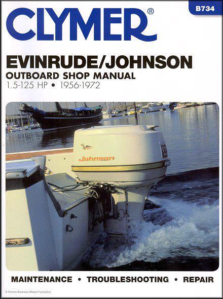 Evinrude / Johnson 1.5-125 HP Outboards 1956 - 1972 - Front Cover